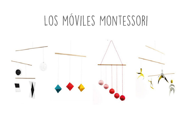 moviles montessori bebes nigran