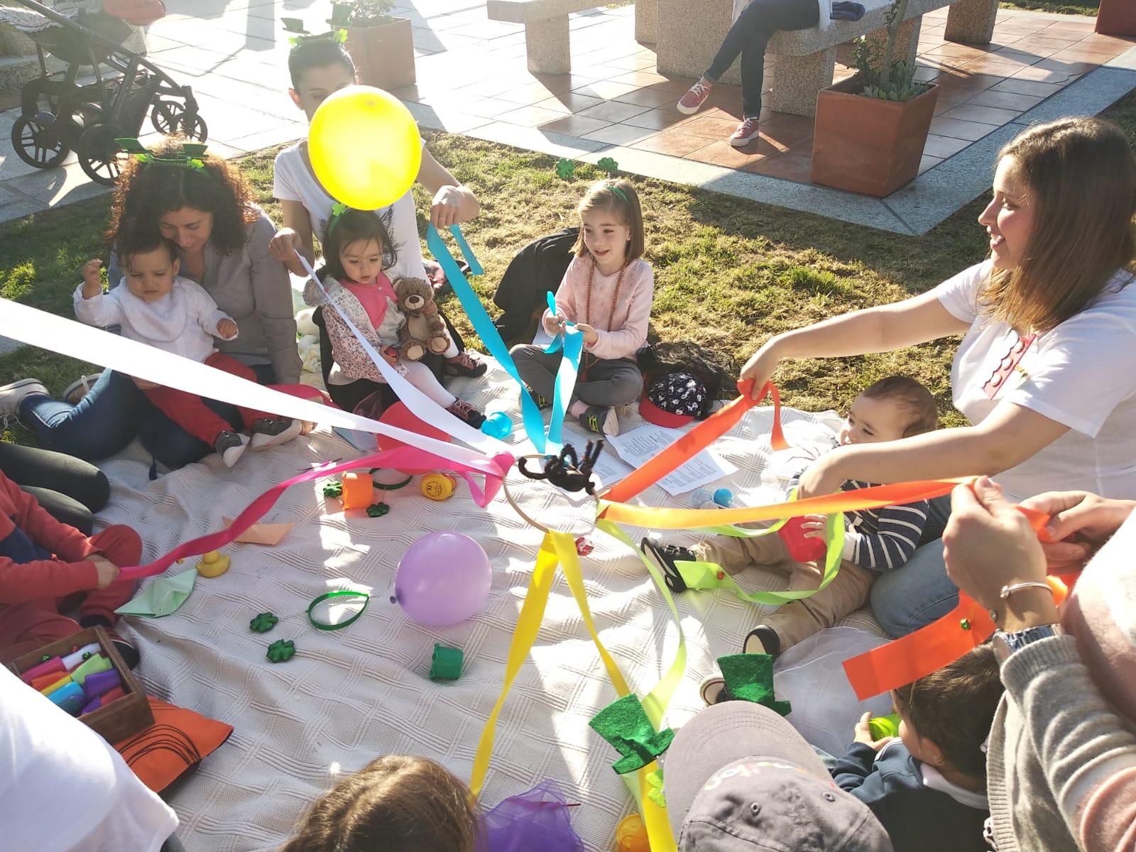 taller estimulacion sensorial bebes la flauta magica vigo cuentos
