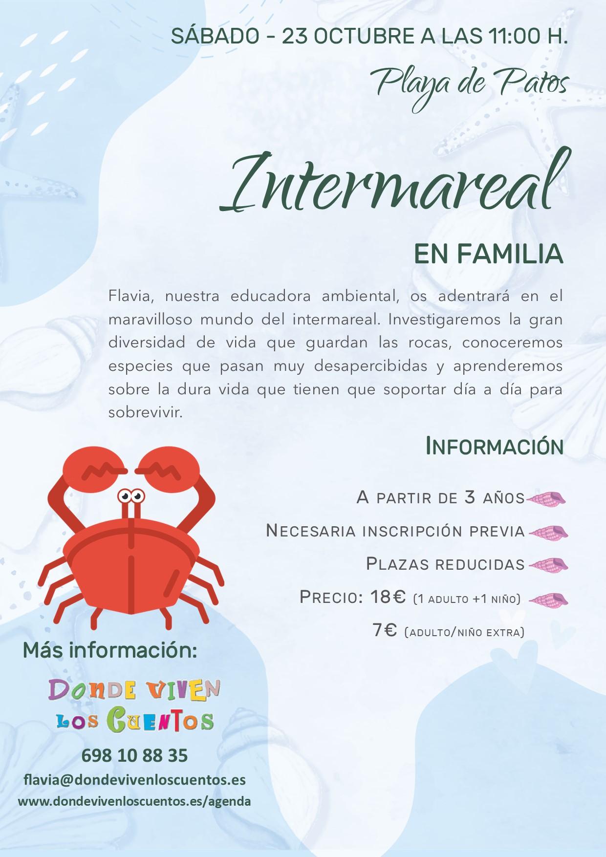 Ruta en familia sobre intermareal